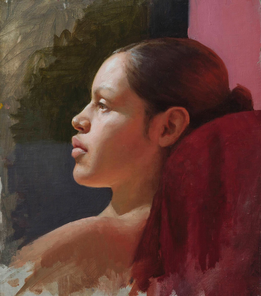 Retrato Pintura al Oleo | Diego Catalan Amilivia Dibujante Pintor